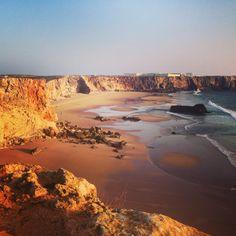 Sagres Portugal Praia do Tonel  #sagres #tonel http://www.sheisontheroadagain.com/portugal/