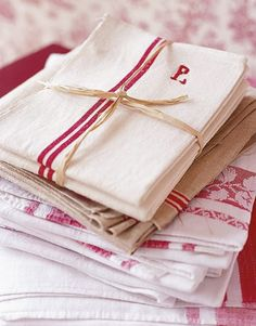 red linens
