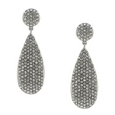 Vince Camuto Glitter Pavé Double Drop Earrings #VonMaur
