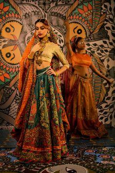 shaadi fashion Indian Attire, Indian Wear, Indian Outfits, Indian Clothes, Indian Style, Bridal Dupatta, Pakistani Bridal, Fat Black Girls, Lengha Choli