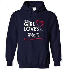 Girl Love MARIO - #muscle tee #sweater upcycle. I WANT THIS => https://www.sunfrog.com/Names/Girl-Love-MARIO-NavyBlue-25687432-Hoodie.html?68278
