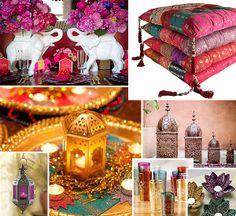 Ambientes Pequenos: decoração indiana. Dicas para incorporar o estilo na sua casa. Acesse e pinit! (via @Ambientes Pequenos) #decoração