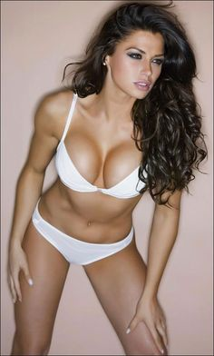 Louise Glover Fitness Health Hot Sexy Lingerie White Lingerie Wedding Lingerie