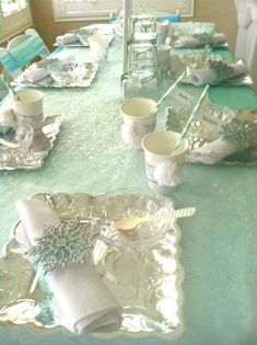 Frozen Elsa Party Birthday Party Ideas   Photo 1 of 28   Catch My Party