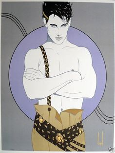 Patrick Nagel Men | Artists who work in the Nagel style in Discussion about the actual art ...