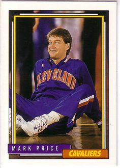 1992-93 Topps CLEVELAND CAVALIERS Team Set (14) MARK PRICE / BRAD DAUGHERTY + #ClevelandCavaliers