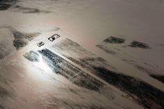 farm buildings submerged. South Platte River, Colorado '13 ©John Wark/AP
