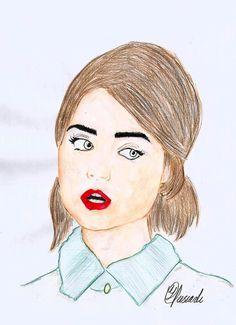 I tried to draw Jenna Coleman