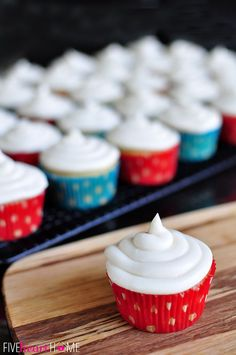 Best Ever Vanilla Texas Sheet Cake Cupcakes with Cream Cheese Frosting
