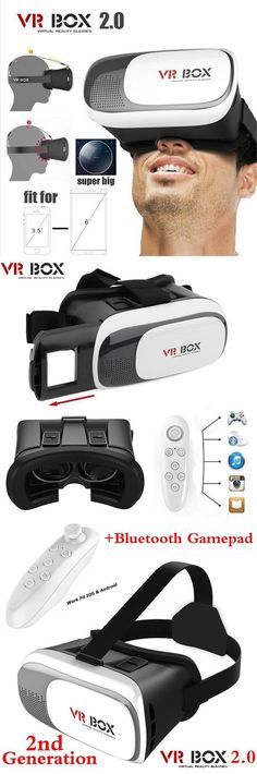 #VR BOX II 2.0 Version VR #Virtual Reality #3D #Glasses #Google Cardboard For 3.5 - 6.0 inch Smartphone+Bluetooth Controller 1.0 Electronics