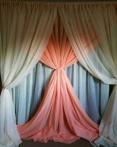 Coral and ivory wedding background - Paper Flower Backdrop Wedding Yard Wedding, Wedding Fair, Ivory Wedding, Coral Wedding Decorations, Stage Decorations, Paper Flower Backdrop Wedding, Wedding Backdrops, Holy Communion Dresses, Ideas Prácticas