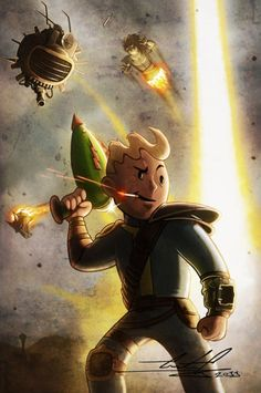 Awesome Fallout Fanart, again artist is unknown!