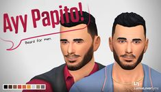 LumiaLoverSims - A beard to give your male Sims a little bit of...