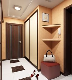 Entryway / прихожая Interior Neoclásico, Interior Design, Hallway Storage, Tall Cabinet Storage, Sweet Home Design, Neoclassical Interior, Cozy House, Mudroom, My Dream Home