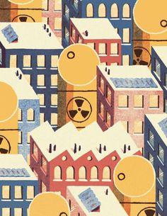 Renewable and Nuclear Energy | David Doran Illustration