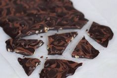 Chokoladebrud med peanuts | Maja Vase