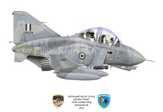 This F-4E belongs to the Greek Air Force and is one of my favorites. For some reason it just looked cool when I first saw it in the Phantom Soceity's Smoke Trails Mag. No story just a cool Phantom.