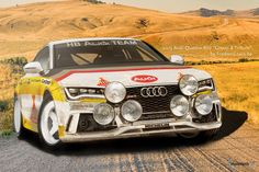 "2013 Audi RS7 ""Group B Tribute"" Rally Car"
