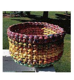 Aunties Two - Pop Corn Bowl Pattern