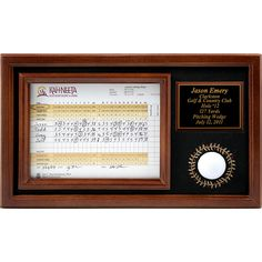 Golf Ball Gifts ProActive Hole In One and Memorable Moments Display X As Shown - Golf Ball Crafts, Perfect Golf, Christmas Gift Guide, Christmas Presents, Hole In One, Frame Display, Golf Gifts, Fantasy Football, How To Memorize Things