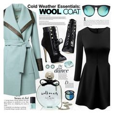"""""""Cold Weather Essentials: Wool Coat"""" by katjuncica ❤ liked on Polyvore featuring Kate Spade, NARS Cosmetics, Alexander Wang, Anja, Sephora Collection, Color My Life, woolcoat and bhalo"""