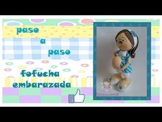 PASO A PASO FOFUCHA EMBARAZADITA - YouTube Foam Crafts, Diy And Crafts, Box Surprise, Shower Bebe, Baby Shawer, Doll Patterns, Party Invitations, Youtube, Creations