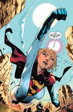 Heros Comics, Dc Comics Characters, Comics Girls, Batman Comics, Power Girl Supergirl, Supergirl Comic, Comic Book Artists, Comic Books Art, Comic Art