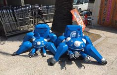 This 'Ghost In The Shell' Tachikoma Cosplay Is Weird And Wonderful