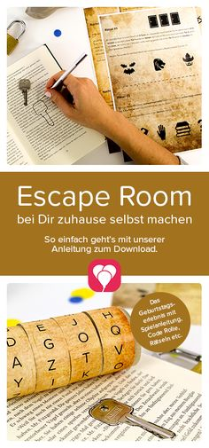 """Escape Room game at your home! You want to do an Escape Room and offer exciting riddles to children? It's easy with our template """"The Party Thief"""". Just visit our website and be inspired to the exciting Escape Room Party! Your balloonas team Room Escape Games, Escape Room Diy, Escape Room For Kids, Kids Room, Games For Kids, Diy For Kids, Diy Pet, Baby Room Boy, Decoration Birthday"""