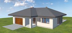 Projekt domu Nika 2 116,51 m2 - koszt budowy - EXTRADOM Gazebo, Outdoor Structures, Home, Kiosk, Pavilion, Cabana
