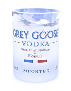 ~Grey Goose Rocks Glass~  Drink straight from the bottle the classy way!