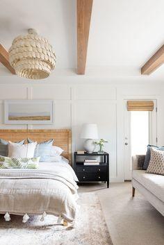 Studio Mcgee, Home Bedroom, Bedroom Decor, Room Themes, Interiores Design, Decoration, House Design, Home Decor, Coastal Decor
