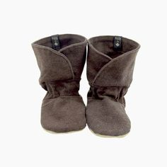 mini mioche booties - mini mioche - organic infant clothing and kids clothes - made in Canada