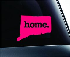 Home Connecticut State Symbol Decal Funny Car Truck Sticker Window (Pink) ExpressDecor http://www.amazon.com/dp/B00TFT1XIA/ref=cm_sw_r_pi_dp_ku72ub09WJYRS