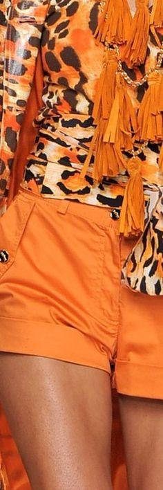 orange fashion #Mikyajy