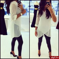 This top is amazing. Must have but in another color to clumsy for white