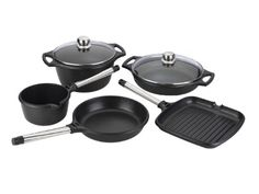 Fagor 7Piece Cast Aluminum Cookware Set * Click image to review more details. This Amazon pins is an affiliate link to Amazon.