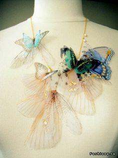 Творения мастеров: незабываемые аксессуары из органзы Derya Aksoy / derya aksoy купить украшения
