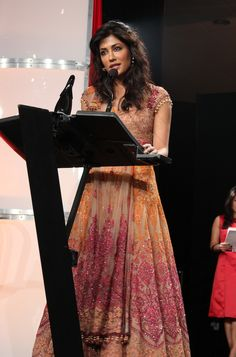 Actress @iChitrangda at the #TOIFA press conference in Vancouver January 22 2013 (Photo by Jugni Style)