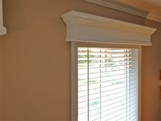 Wooden Valance for Window