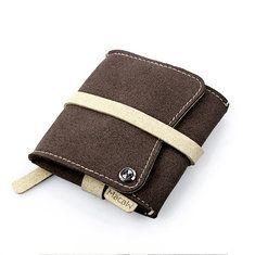 PU de la venda que lleva el bolso de almacenamiento de cable de los auriculares de los auriculares Artist3 guacamayo