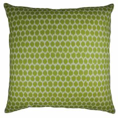Splotch Pillow, Lime $89.00