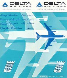 delta airlines convair 880
