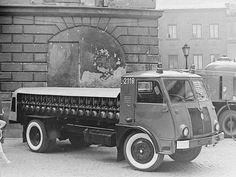 23 czerwca 1974 roku w Lublinie odbywały się obchody 100-lecia lubelskiej straży pożarnej. I stary Star. Fot. Wojciech Turżański.