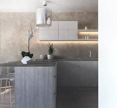 jasna kuchnia biel beż  bright kitchen white beige
