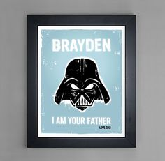 How fun are these!! Redecorating Your Kid's Room, Star Wars Style – Part 1: Researching Etsy