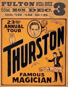 Thurston Magical Show Magic Magician 10 of 18 poster
