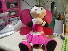 Hacer mis lindas fofuchas: Mi loca mariquita
