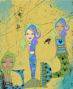 Mermaid Trio