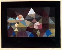 Crystalline Landscape - Artist: Paul Klee Completion Date: 1929 Style: Abstract Art Period: Bauhaus Genre: abstract Technique: watercolour Material: cardboard Dimensions: 42 x 33.3 cm Gallery: Private Collection, Switzerland